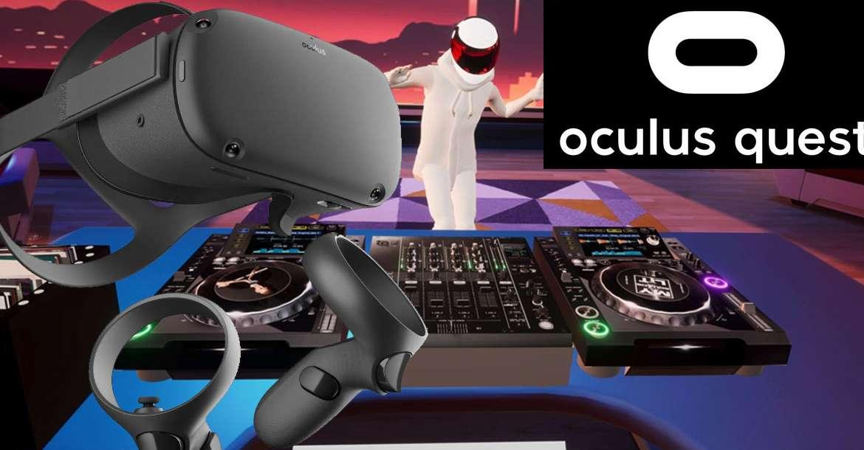 TribeXR DJ jetzt für die Oculus Quest verfügbar!